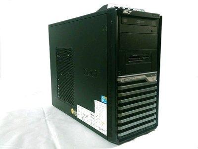 ☆寶藏點☆acer電腦主機Q8300 四核/2G記憶體/250G硬碟/DVD光碟機/WIN 7 功能正常 jj96