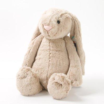 預購 英國 JELLYCAT經典Beige 兔 36cm 最精緻的絨毛玩偶 Bashful Bunny 灰棕 大款