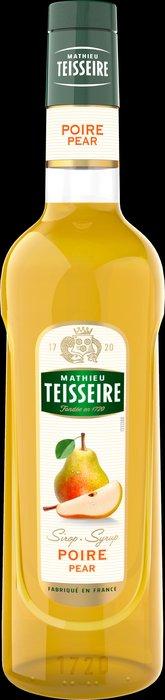 Teisseire 糖漿果露-梨子風味 Pear Syrup 法國頂級天然糖漿 700ml
