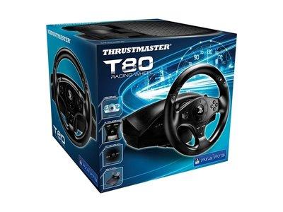 全新 PS4 Thrustmaster T-80 Racing Wheel (行貨)