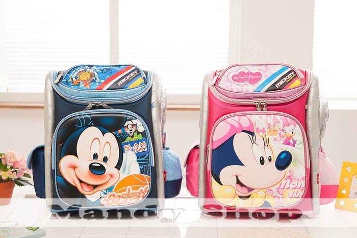 mandyshop【M2585】㊣ Disney迪士尼米奇兒童後背包/減壓/護椎大書包