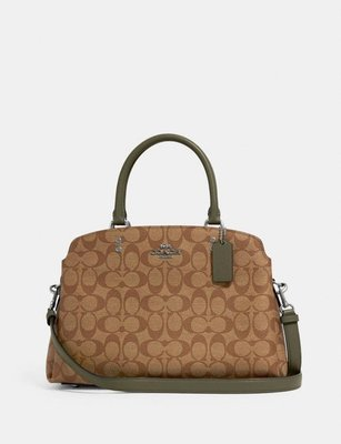 COACH Lillie Carryall In Signature Canvas