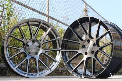 CR輪業 正美國 AG AVANT GARDE  LUXURY VANQUISH 旋壓輕量化20吋鋁圈 石墨灰