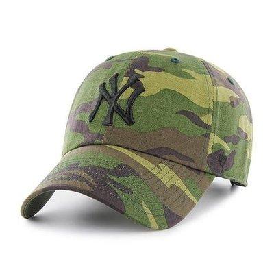 【免運】47 BRAND NEW YORK YANKEES CAMO UNWASHED 迷彩 洋基隊 老帽《預購》