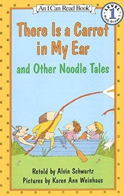 *小貝比的家*THERE IS A CARROT IN MY EAR AND OTHER NOODLE TALES L1
