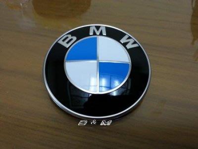 (B&M 原廠精品)德訂 BMW 正原廠圓型標誌 前標 引擎蓋標誌 廠徽 F30 F20 F22 F54 F87  E87 現貨