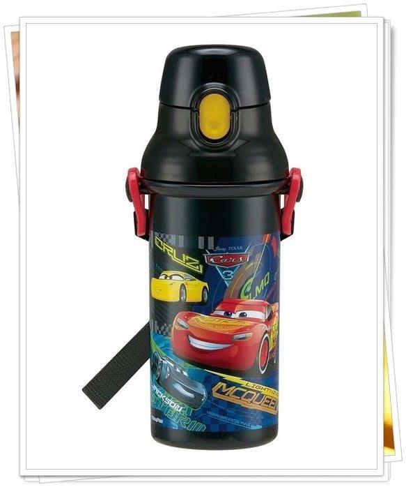 CARS 直飲式水壺 480ml  奶爸商城 日本製 黑色 378737 同系列水壺4款合購免運