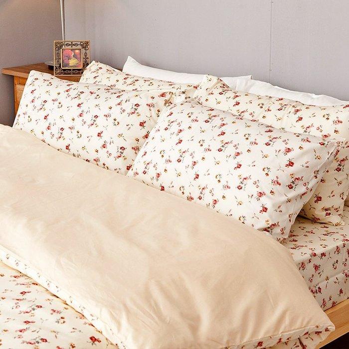 (預購)床包 / 雙人-100%精梳棉【田園童話】5*6.2尺 雙人床包含兩件枕套,戀家小舖,台灣製造-AAS201