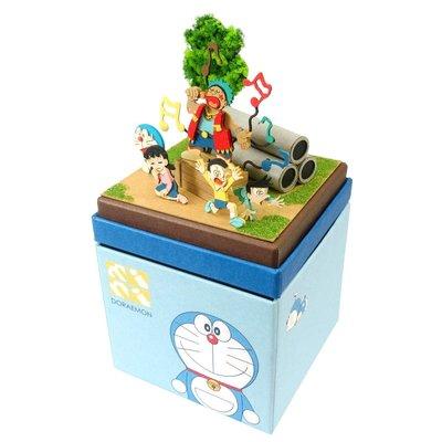 日本正版 Sankei 哆啦A夢 mini 紙模型 需自行組裝 MP08-08 日本代購