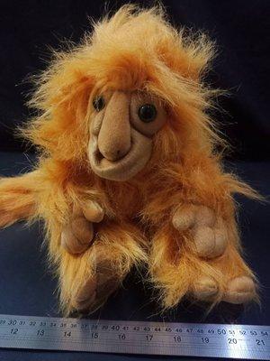 【哈狼族】美國外貿手偶金獅面狨(Golden Lion Tamarin)金狨猴手偶/說故事表演腹語道具