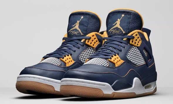 【Jia】出清,2001元起標-Air Jordan 4 Retro 大童 女 408452-425 藍黃 四代 籃球鞋