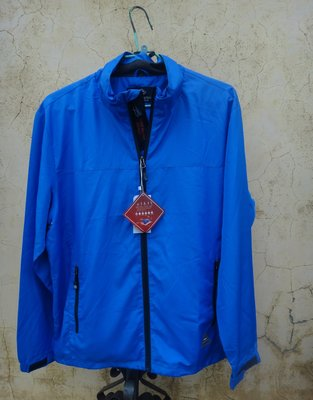 jacob00765100 ~ 全新 正品 PIERRE BALMAIN 皮爾帕門 寶藍色 防風 立領外套 size: