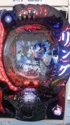 柯先生日本原裝小鋼珠柏青哥CR七夜怪談 終焉之刻 電影恐怖驚嚇破錶電玩機台大型電動機台遊藝場的聲光效果刺激家用型電動玩具