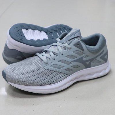 * 世偉體育 *  美津濃MIZUNO WAVE POLARIS EZ 一般型男慢跑鞋 J1GC198204(灰)