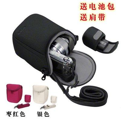 索尼微單a5100 a6000 a5000 3N NEX-6 7 5T 5R 5N F3相機包相機套