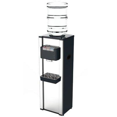 ☆全新公司貨.免運有現貨☆【嘉原】元山 立地型不鏽鋼桶裝式冰溫熱飲水機 YS-8200BWSIB