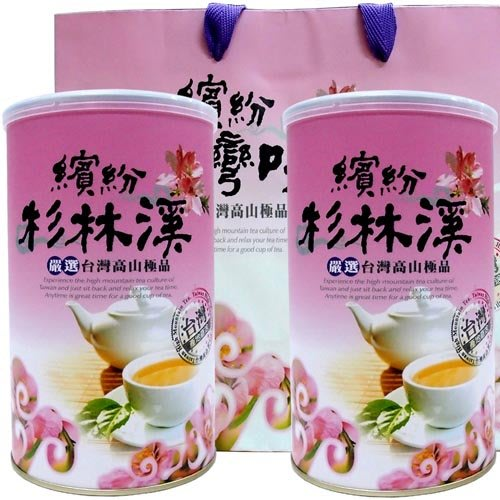 【新造茗茶】精選特等杉林溪高山茶(300g*2罐)