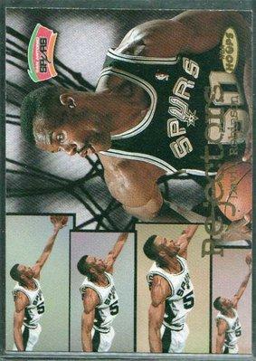 98-99 NBA HOOPS REJECTORS #9 DAVID ROBINSON限量