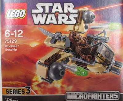 全新 Lego 75129 Star Wars Microfighters Wookiee Gunship