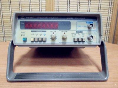 康榮科技二手儀器領導廠商G.W GFC8270H (GFC-8270H)2.7GHz Frequency Counter