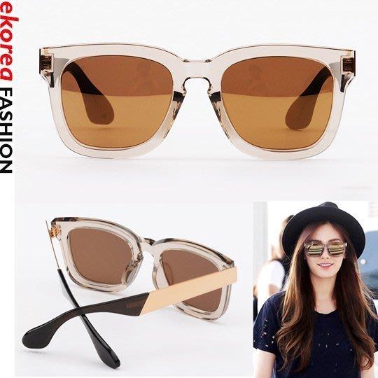 ekorea衣韓時尚《正韓空運》ATP1018 Triple Point金色太陽眼鏡(Nana配戴款) (現貨)