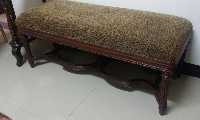 美生活館 全新古典風格家具 設計師款式 新古典亞德琳 床尾椅/玄關椅/穿鞋椅 窗下椅情人椅
