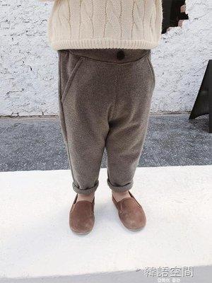 棉小班男童加絨褲子2018新款韓版寶寶加絨冬裝長褲兒童洋氣休閒褲