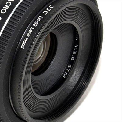 公司貨JJC ES-52 遮光罩CANON EF 40mm f2.8 stm /  EF-S 24mm f/ 2.8 STM 台中市