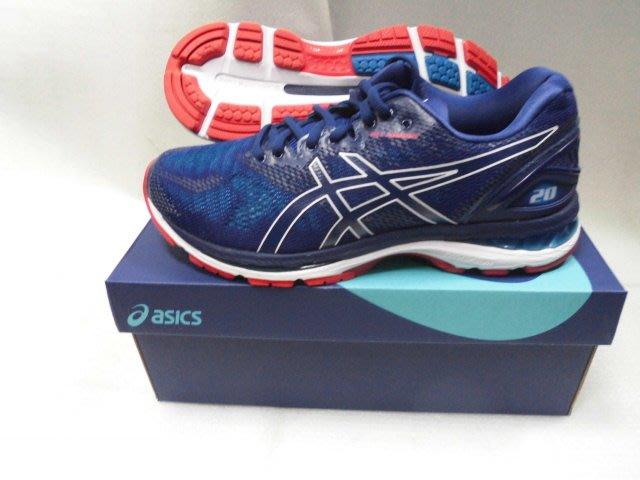 【n0900台灣健立最便宜】2019 ASICS GEL-NIMBUS 20 (4E)  寬楦慢跑鞋 T802N-400