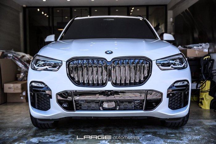 【樂駒】 BMW X5 G05 原廠高光黑 水箱罩 改裝 套件 性能 高亮黑 黑鼻頭 空力