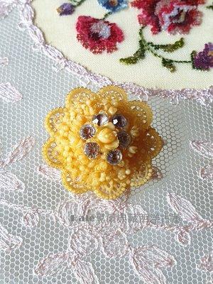 黑爾典藏西洋古董~美國40~50's蕾絲Celluloid buttons賽璐璐鈕扣~Vintage歐洲珠寶衣夾裝飾
