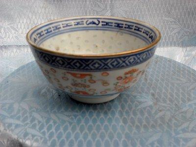 紫色小館4-----米孔碗(高6公分.直徑10公分)