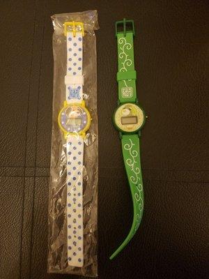 Yujin 茶犬 綠茶狗 手錶 一套2隻 不設散買