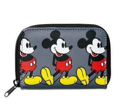 ~   迪士尼 米奇 卡片零錢包 內有夾層