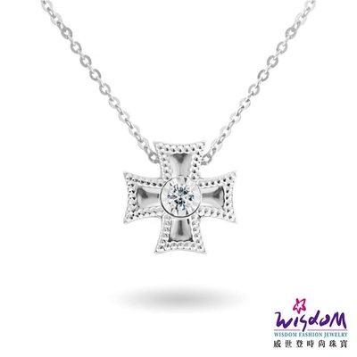 威世登 18K金 鑽石項鍊-情人節、生日、紀念日、送禮-JDB01897-BCCXX