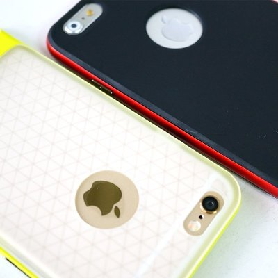 金屬邊框 防摔殼 iPhone 6s / i6s Plus / S6 手機套 手機殼 保護套 空壓殼 氣墊殼