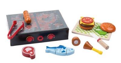 英國直送 德國製造 Playtive Junior 木製玩具 (燒烤) 兒童 嬰兒 玩具 蒙特梭利 Montessori