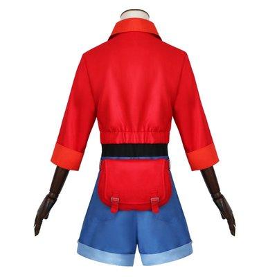 cosply服裝女工作細胞紅細胞cos服赤血球紅血球cos動漫cosplay服