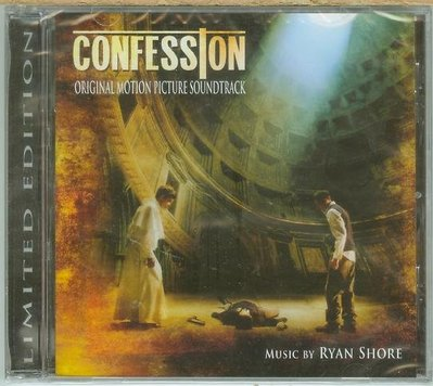"""[原聲帶-C]-""""自白(Confession)""""- Ryan Shore,全新美版(42)"""