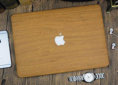 現貨 mac air 11 13  木紋 保護殼 質感超好
