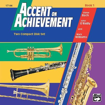 【599免運費】Accent on Achievement, Book 1【Two Complete Disk Set】