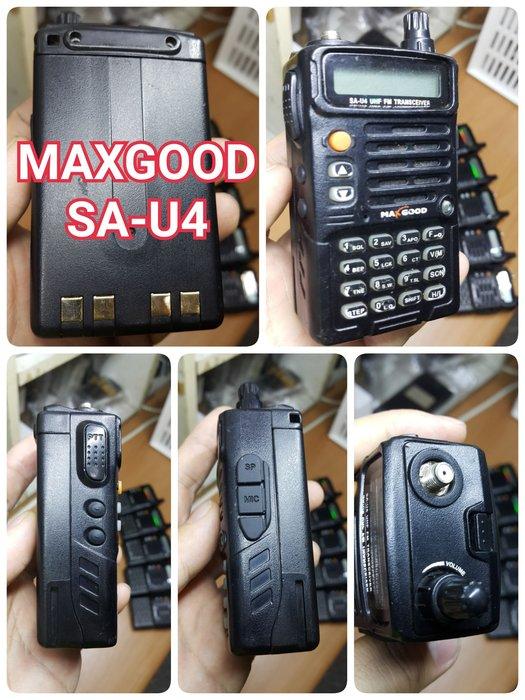 【手機寶藏點】免執照 無線電 業餘機 業務機 VHF UHF FRS UV VU 對講機MAXGOOD SA-U4 鴻G