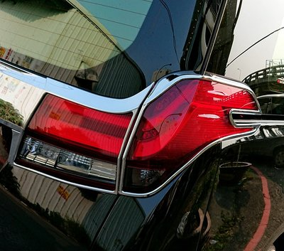 圓夢工廠 Toyota Alphard 2015~2018 30系 改裝 鍍鉻 車燈框 後燈框 尾燈框 質感飾貼