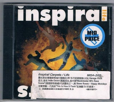 [鑫隆音樂]西洋CD-inspiral carpets / Life (全新) 免競標
