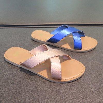 【iSport愛運動】MALVADOS Icon Neko Reptile 涼拖鞋 3014- 兩色 女款 藍/裸色