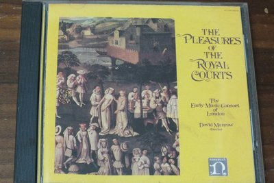 Nonesuch-the pleasures of the royal courts-美版,無IFPI
