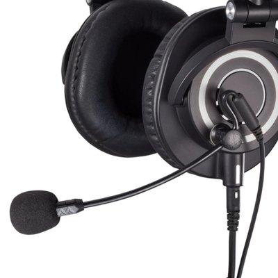 美國Antlion Audio磁扣降噪ModMic Uni耳罩耳機用外接麥克風GDL-1420單一指向性高靈敏度    愛麗小屋店 wdp