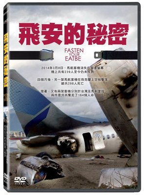 合有唱片 面交 自取 飛安的秘密 DVD Fasten Your Seatbelt