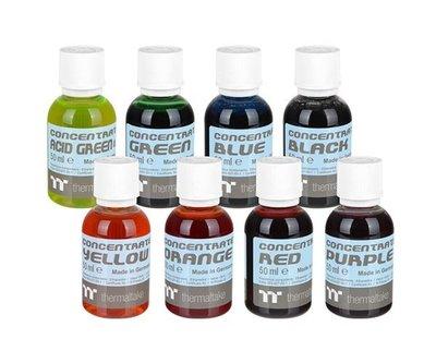 光華CUMA散熱精品*曜越  TT Premium Concentrate水冷濃縮液(四罐濃縮液包) 8種顏色可選~現貨