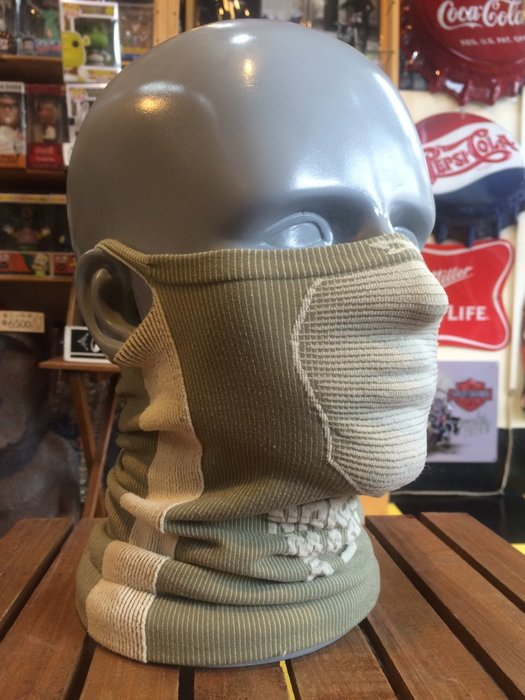(I LOVE樂多)Naroo Mask淺灰長版X5騎行運動 面罩 單車 哈雷 越野 滑胎 偉士 VESPA Cafe